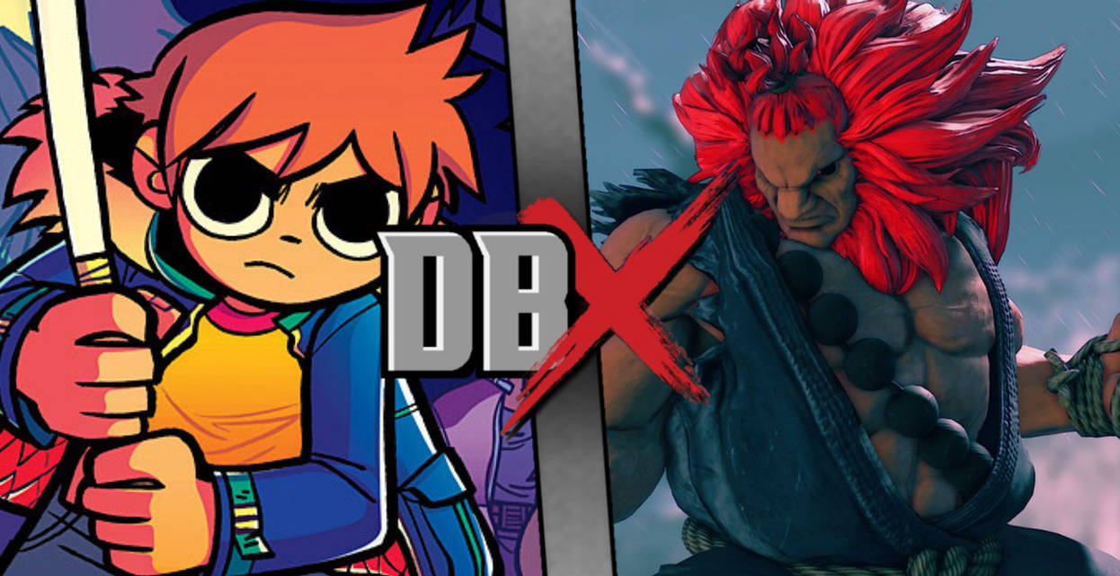 DBX Claim: Scott Pilgrim vs Akuma  by DracoSparda26