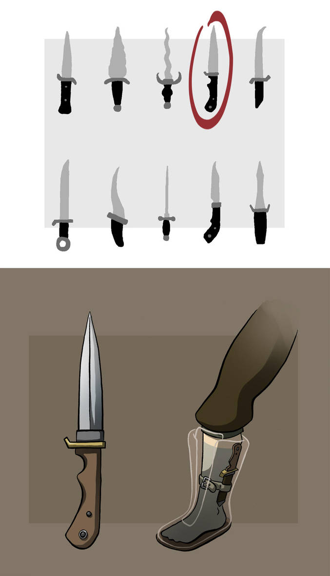 Eva's Bootknife by Blu-Hue