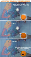 annoying orange: the beginning by byAndy