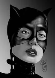 FACE STUDY #31 - Catwoman by pictsy