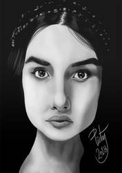 FACE STUDY #32 by pictsy
