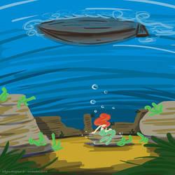 Petite sirene by ElfyneInWonderland
