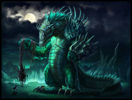 water colossus by TagoVanTor