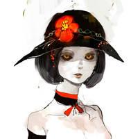 Vampire girl by ptromea