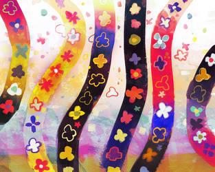 flowered pattern by ptromea