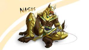 Nasus by Sollyz