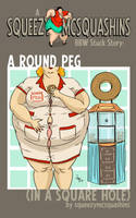 A Round Peg: Now on Amazon! by squeezymcsquashins