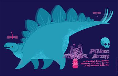 Pillow Army Dinos 2 by chibighibli