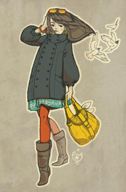 fall girl by chibighibli