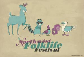 folklife critters by chibighibli