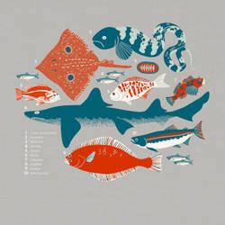 Washington waters t-shirt by chibighibli