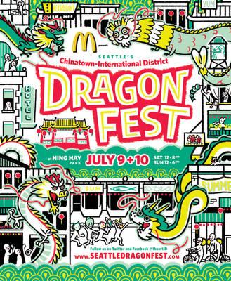 Dragon Fest 2011 by chibighibli