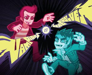 Vamps vs Weres by chibighibli