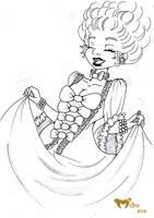 Marie-Antoinette by the-marou
