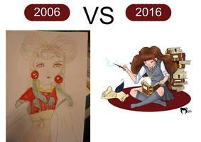 2006 vs 2016 by the-marou