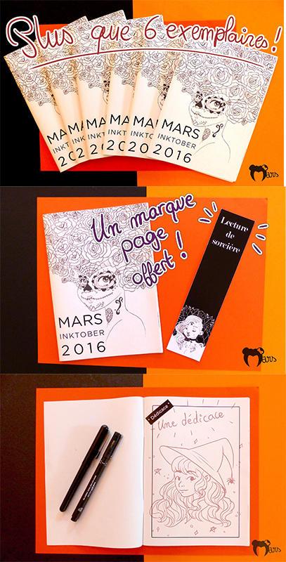 Inktober 2016 - sales by the-marou