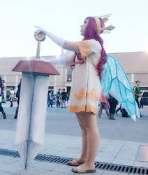 Cosplay - Aurora with sword (Child of Light) by MissLittleOtaku