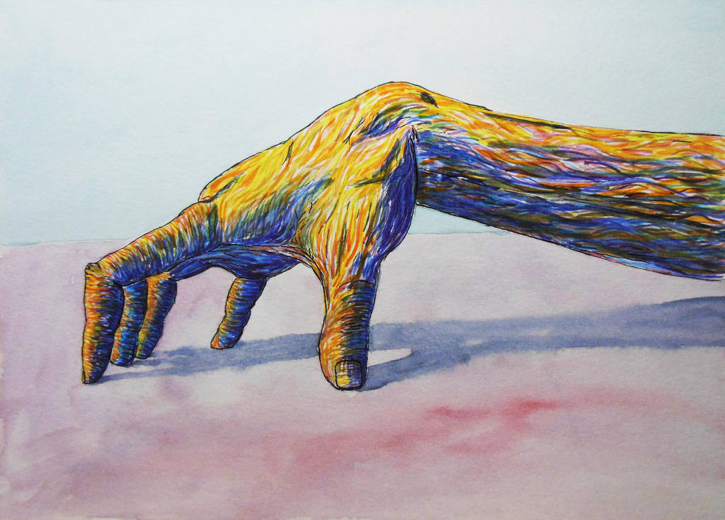 Colorful Hand by Citizzen