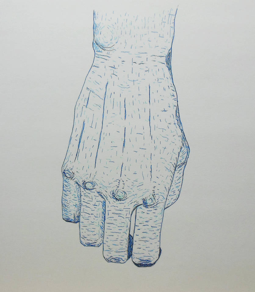 Blue Hand by Citizzen