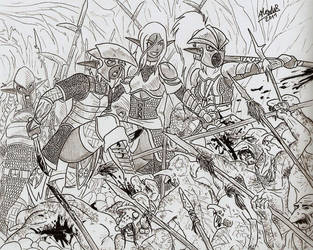 Hold the Line by Shabazik
