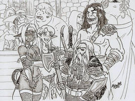 The Adventure Party by Shabazik