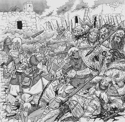 The Siege and Fall of Kadir by Shabazik