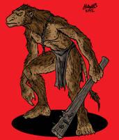 Troll  Bridge blackguard by Shabazik