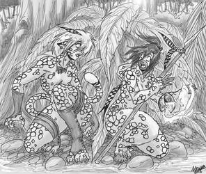 Hunters and Preys by Shabazik