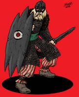 Human Nutk Warrior by Shabazik