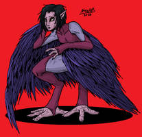 Harpy Chick by Shabazik