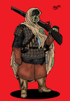 Sha-Hog Orc Musketeer by Shabazik