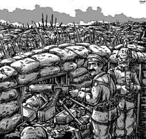 Maschinengewehr by Shabazik
