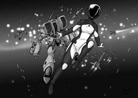AZPHAR Space Mech Pilot by Shabazik