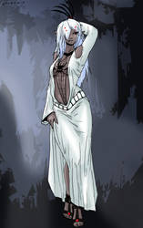 Ulilae the Drow by Shabazik