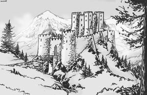 Degolandic Castle by Shabazik