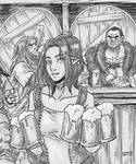 A beer? by Shabazik