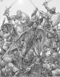 Wavering Infantry by Shabazik