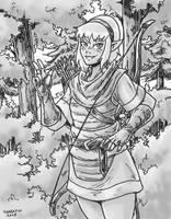 Elf Archer by Shabazik