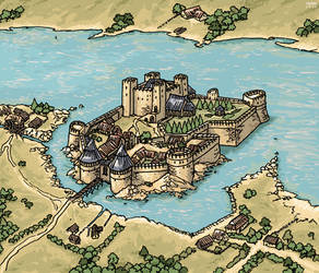River Guard Castle by Shabazik