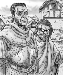 Mercenary Couple by Shabazik