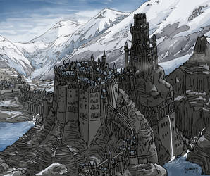 The City of the Wicked of Zaghal by Shabazik