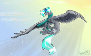 KyuFlake the Snowpony by KyuremGirl