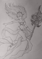 Janna Sketch by Veeroniquee