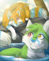 Keanu And Konani by RiverSpirit456
