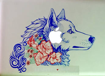 Mac Sharpie Cover + UPDATE by RiverSpirit456