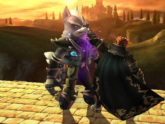 Wolf's Misfortune by dragonheart07