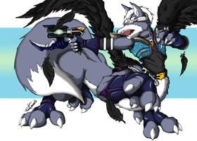 Wolf Taur Request by Shinfox by dragonheart07