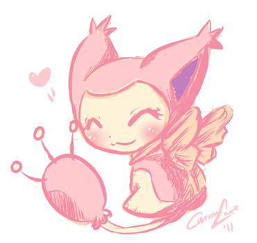 Skitty by caninelove