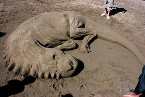 Sandy sculpture 5 by soheyl