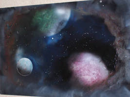 Space Painting 3 by Forlork